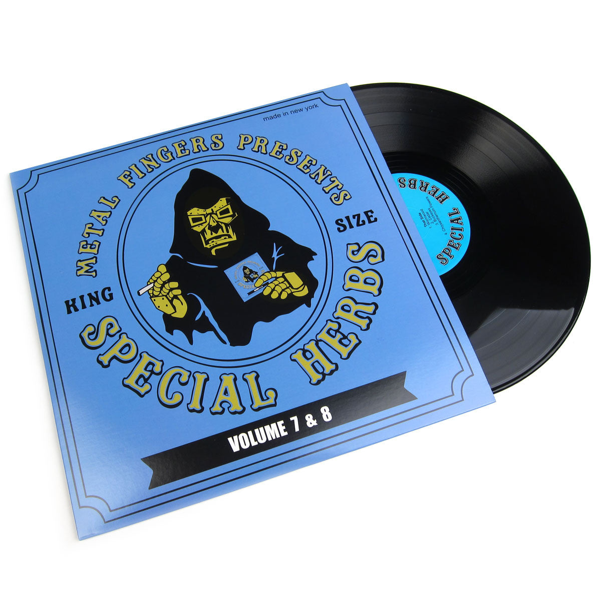 MF Doom: Special Herbs Volume 7&8 Vinyl 2LP+7""