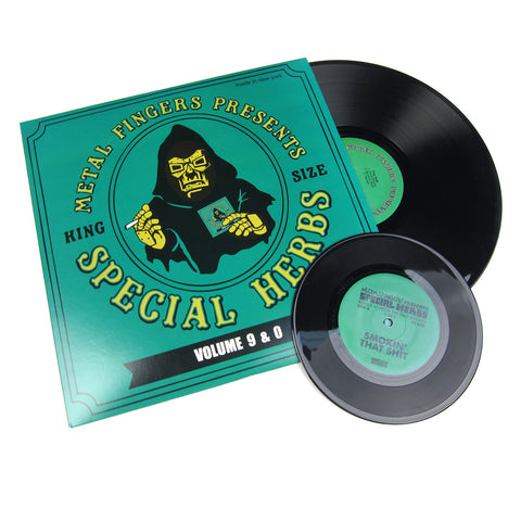 MF Doom: Special Herbs Volumes 9&0 Vinyl 2LP+7""