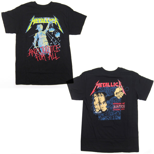 Metallica: And Justice For All Shirt - Black