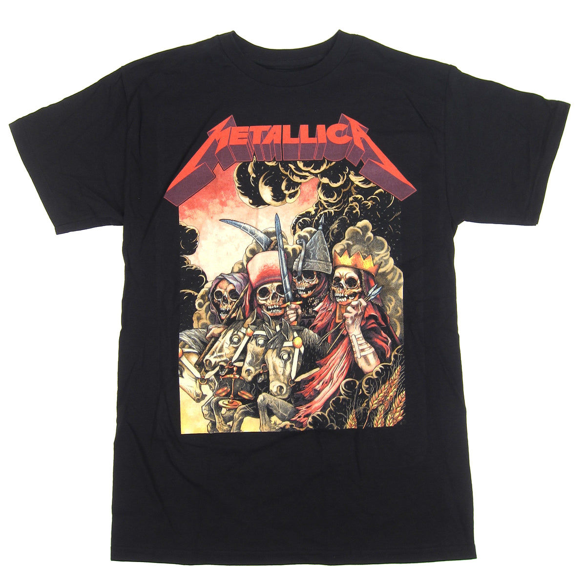 Metallica: The Four Horsemen Shirt - Black