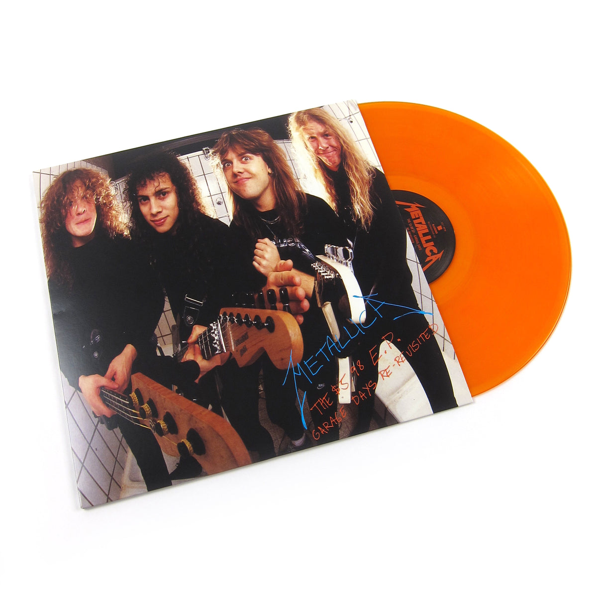 Metallica: The $5.98 EP - Garage Days Re-Revisited (180g, Indie Exclusive Colored Vinyl) Vinyl LP