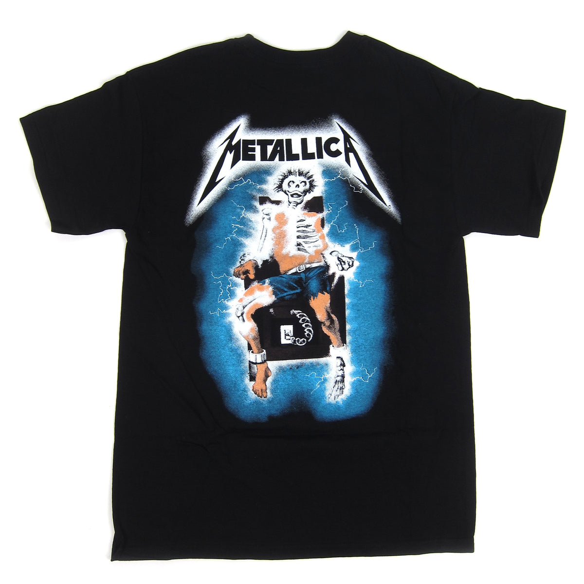 Metallica: Ride The Lightning Shirt - Black