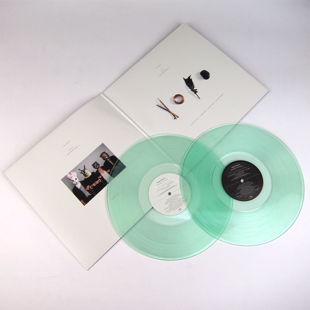 Metric: Pagans In Vegas (Colored Vinyl) Vinyl 2LP