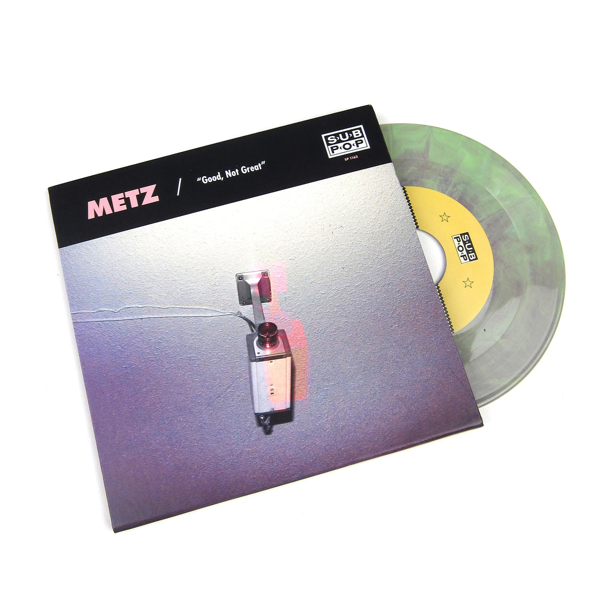 "METZ / Mission Of Burma: Good, Not Great / Get Off (Colored Vinyl) Vinyl 7"" (Record Store Day)"