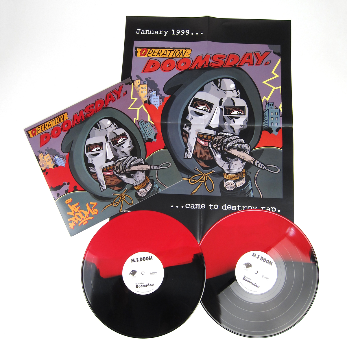 MF Doom: Operation Doomsday (Colored Vinyl) Vinyl 2LP