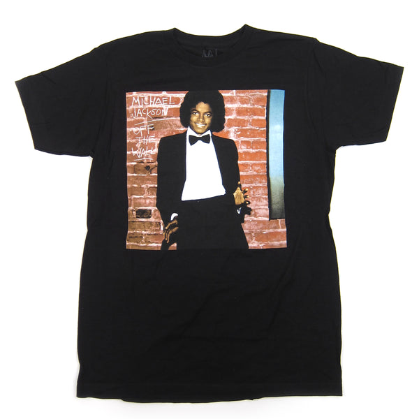 Michael Jackson: Off The Wall Closeup Shirt - Black