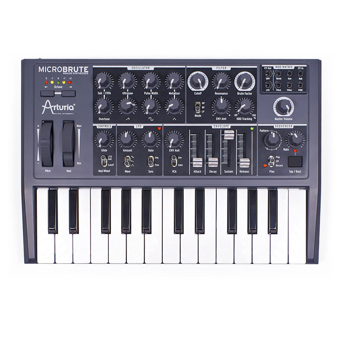 Arturia: Microbrute Analog Synthesizer