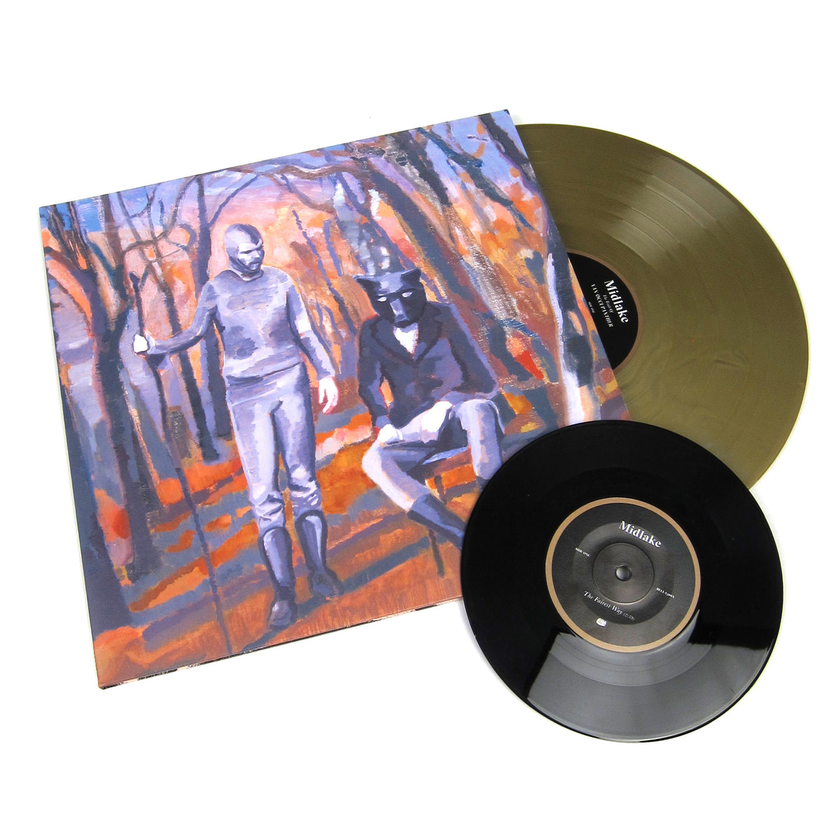 Midlake: The Trials Of Van Occupanther (180g, Colored Vinyl) Vinyl LP+7""