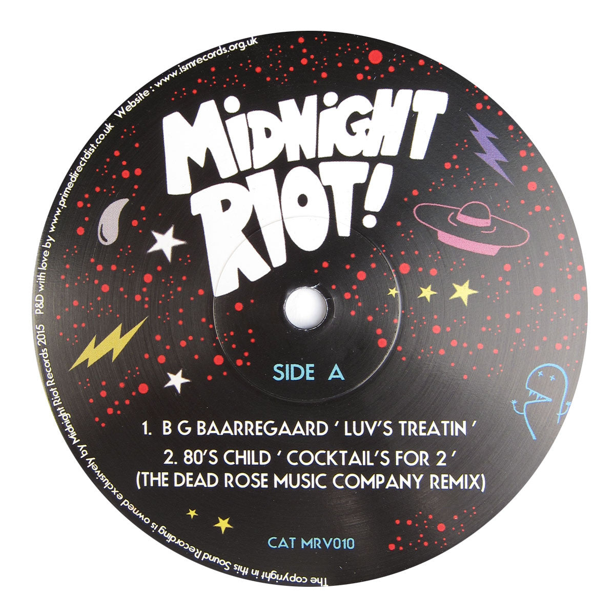 Midnight Riot: Midnight Riot Vol.8 (Late Nite Tuff Guy) Vinyl 12""