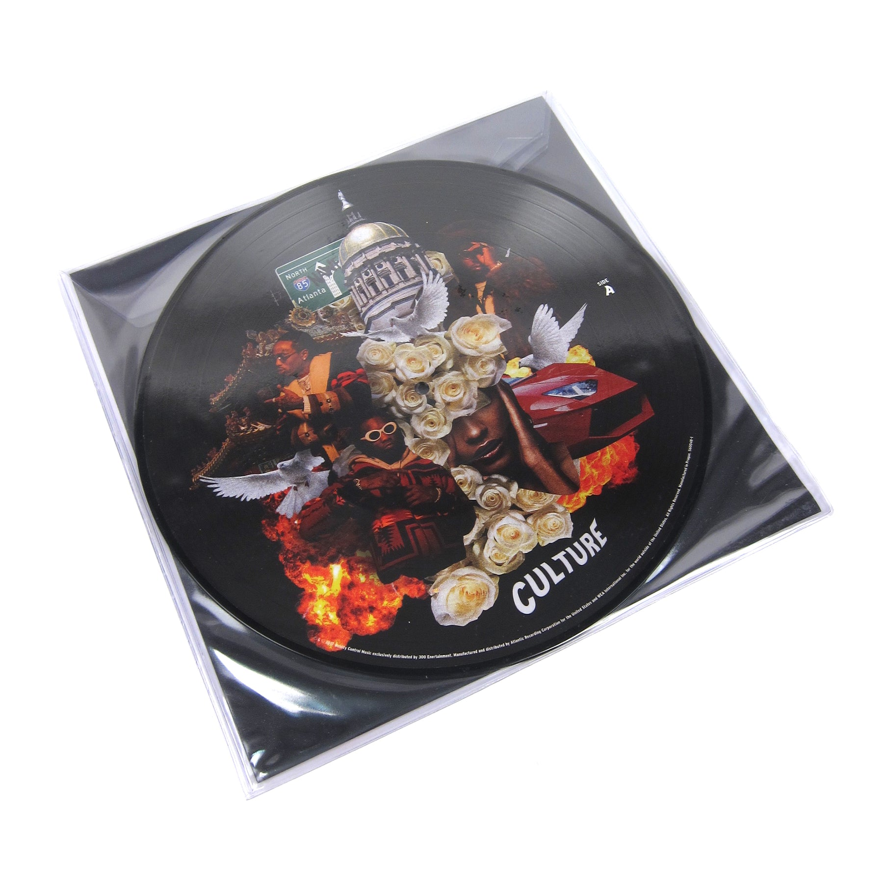 Migos Culture (Pic Disc) Vinyl 2LP