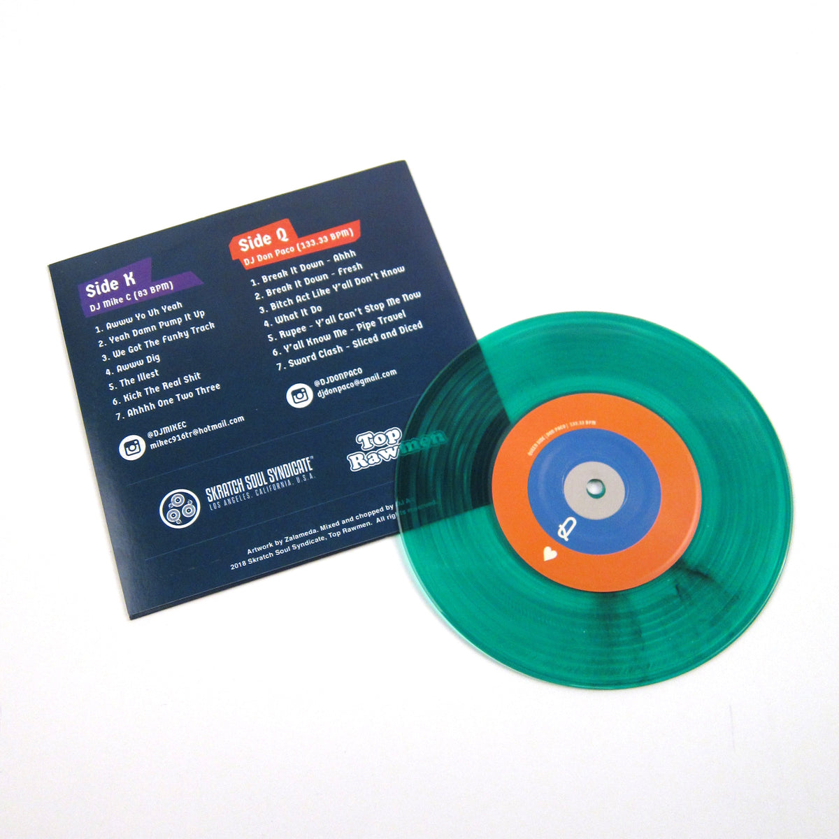 DJ Mike C / DJ Don Paco: Kings & Queens (Colored Vinyl
