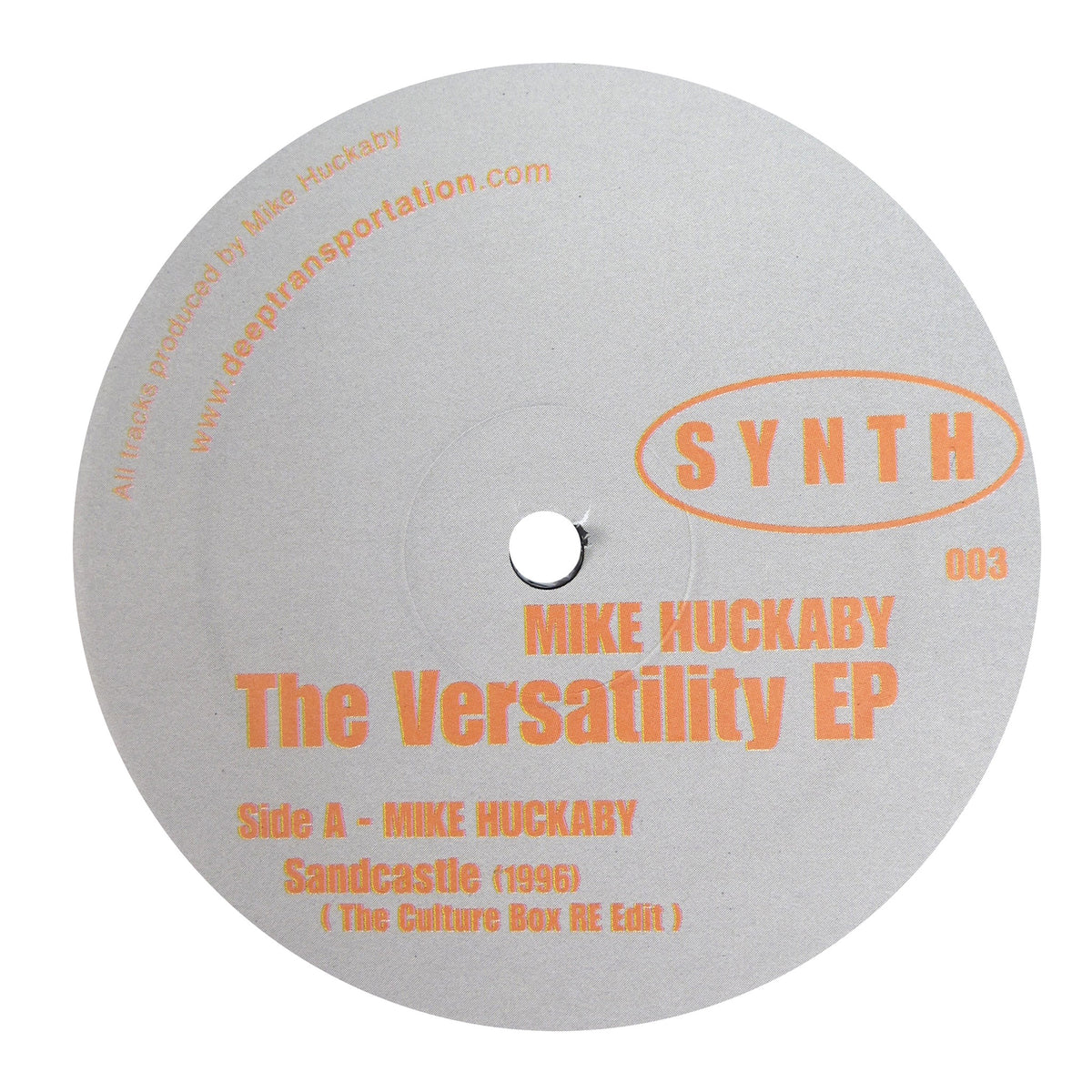 Mike Huckaby: The Versatility EP Vinyl 12""