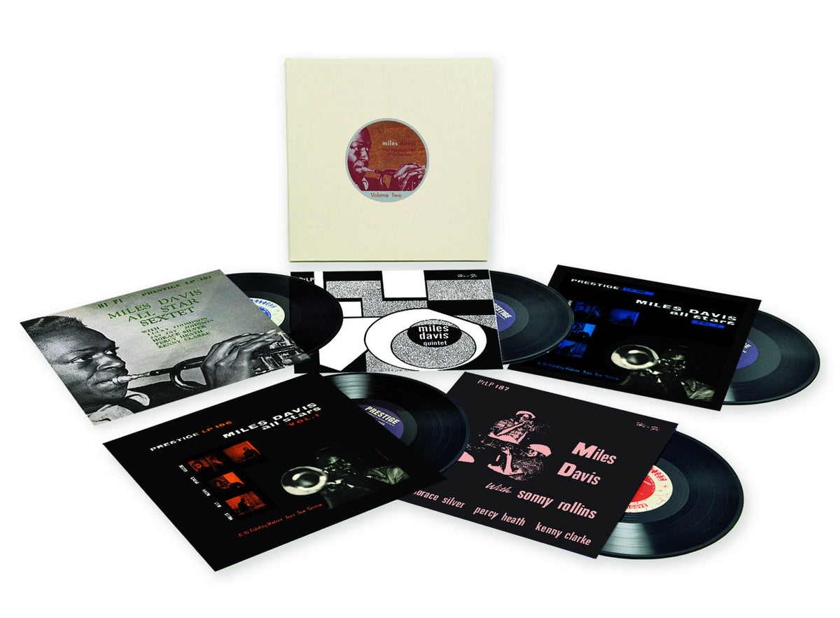 Miles Davis: The Prestige 10-Inch LP Collection, Vol.2 Vinyl 5LP Boxset (Record Store Day)