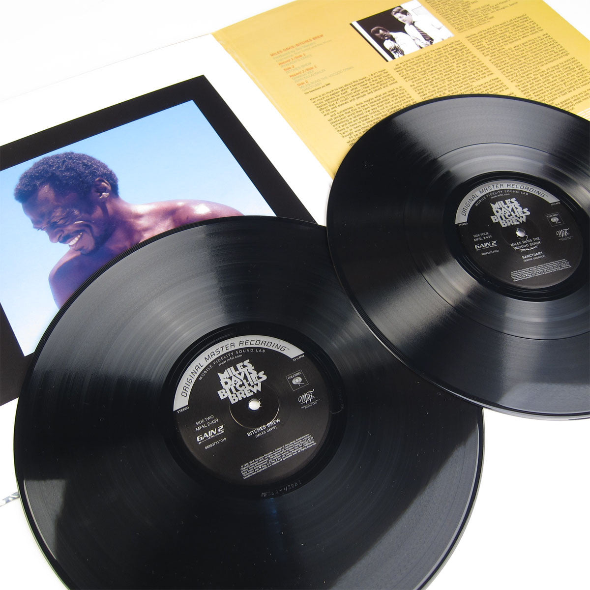 Miles Davis: Bitches Brew (Numbered Limited Edition 180g) Vinyl 2LP gatefold