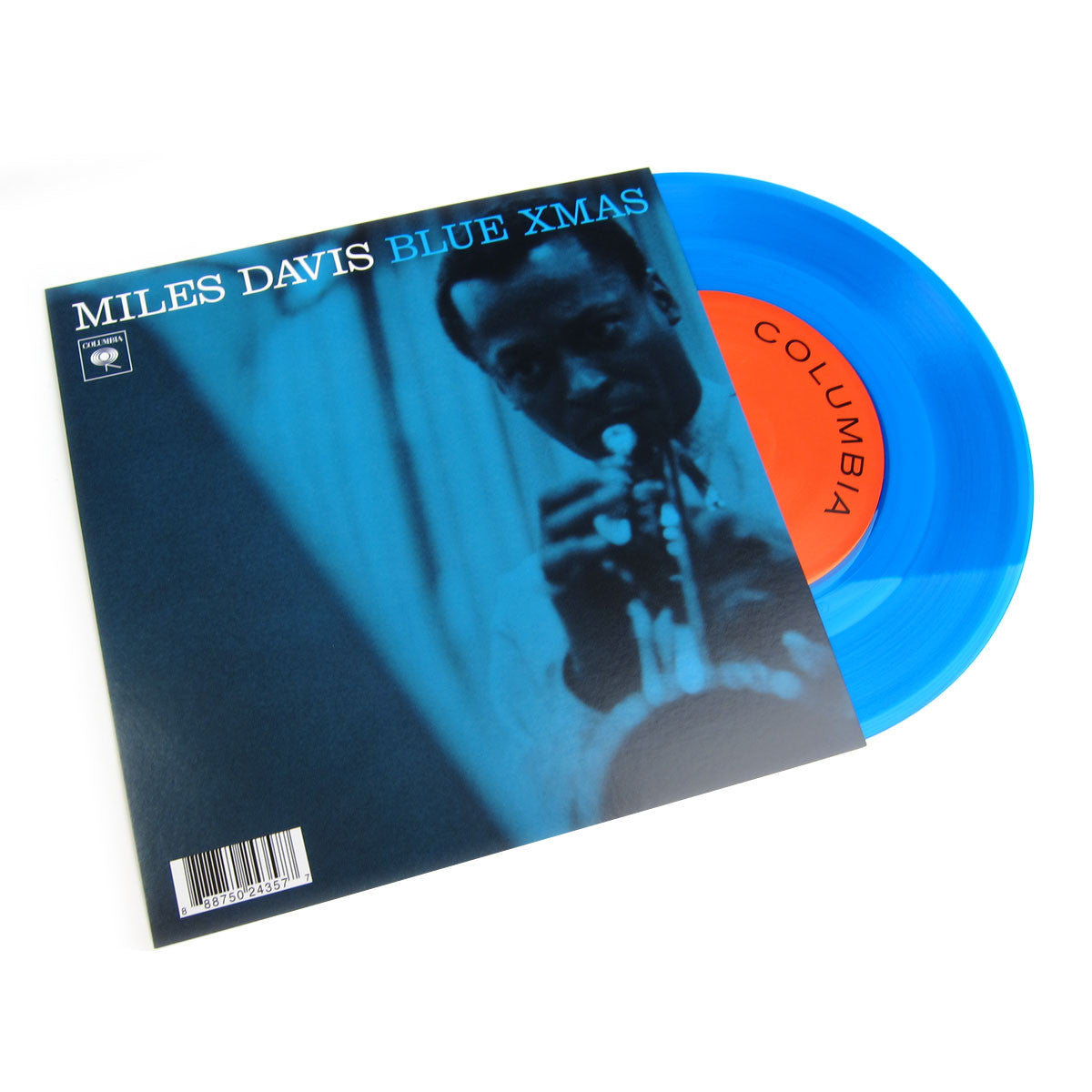 "Miles Davis: Blue Christmas (Colored Vinyl) Vinyl 7"" (Record Store Day)"