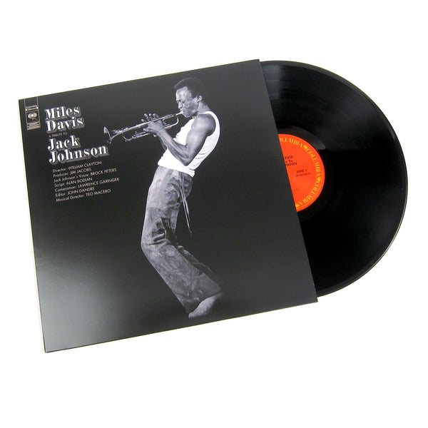 Miles Davis: A Tribute To Jack Johnson Vinyl LP