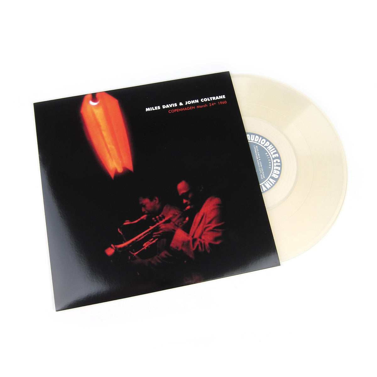 Miles Davis & John Coltrane: Copenhagen March 24th 1960 (Audiophile Clear Vinyl) ACV Vinyl LP