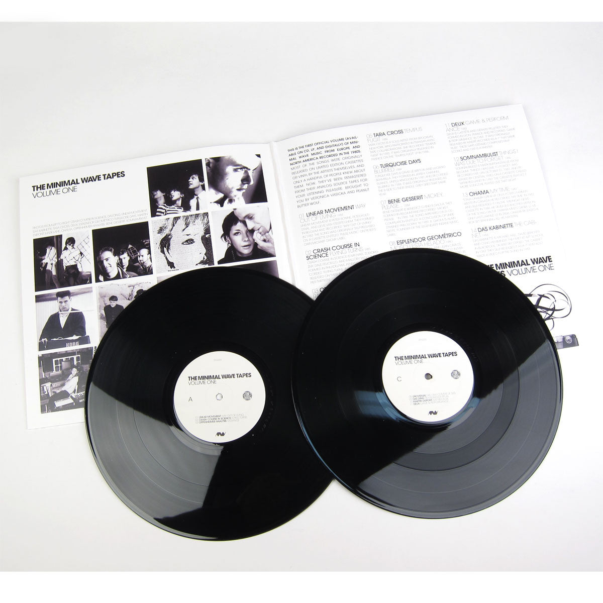 Minimal Wave: The Minimal Wave Tapes, Vol.1 2LP detail