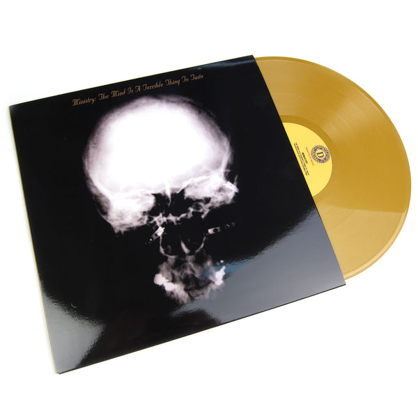 Ministry: The Mind Is A Terrible Thing To Taste (Gold Vinyl) Vinyl LP