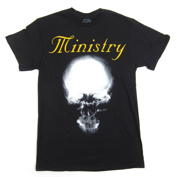 Ministry: Mind Skull Shirt - Black