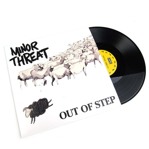 Minor Threat: Out Of Step  (Free MP3) Vinyl LP