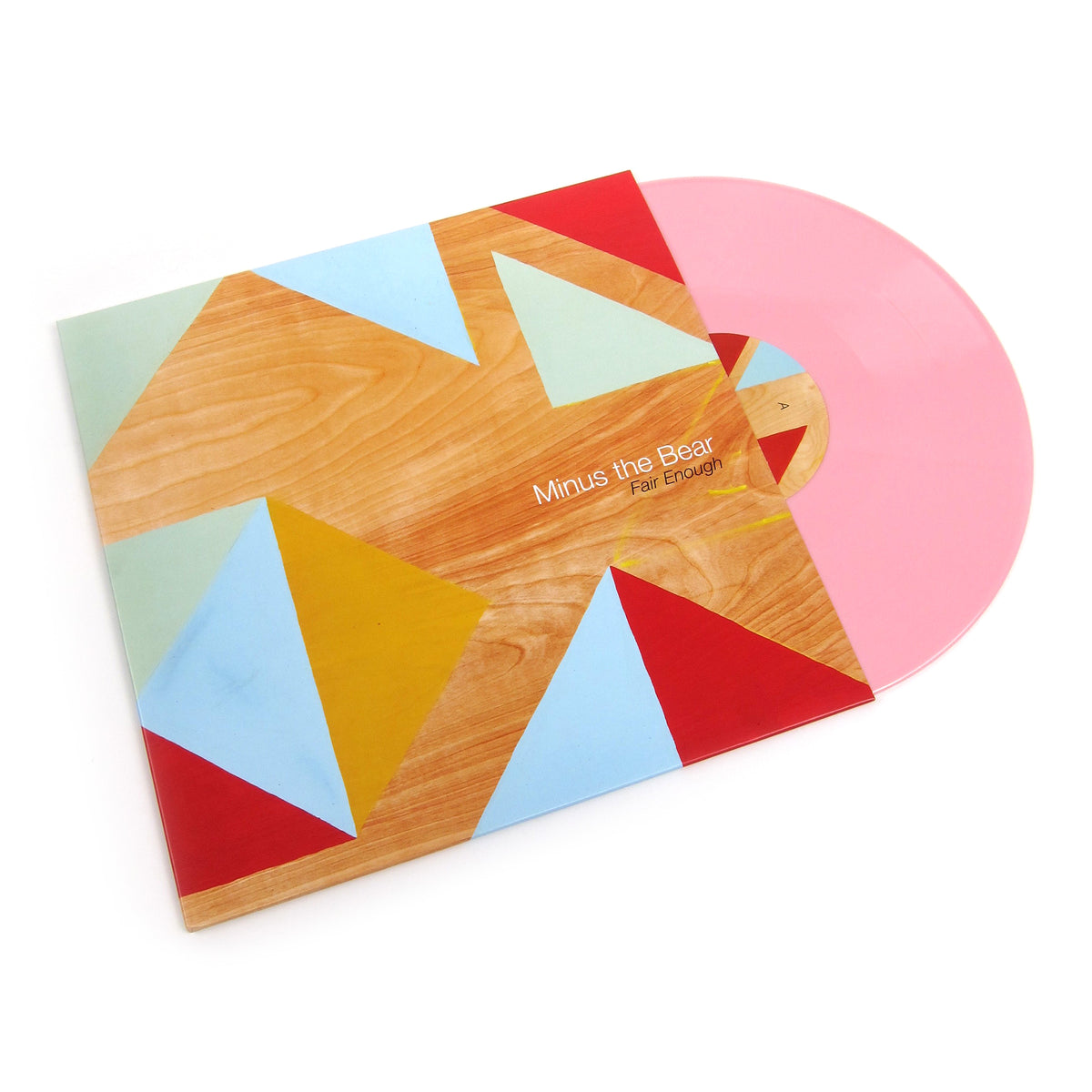 Minus The Bear: Fair Enough (Pink Colored Vinyl) Vinyl LP