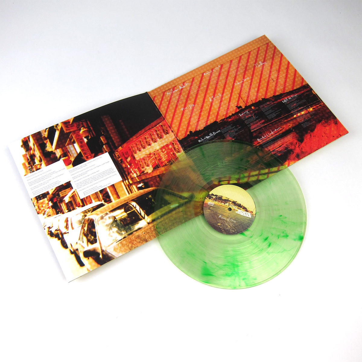 Minus The Bear: Menos El Oso (Green Melt Colored Vinyl) Vinyl LP