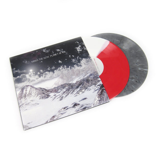 Minus The Bear: Planet Of Ice (Split Colored Vinyl) Vinyl 2LP