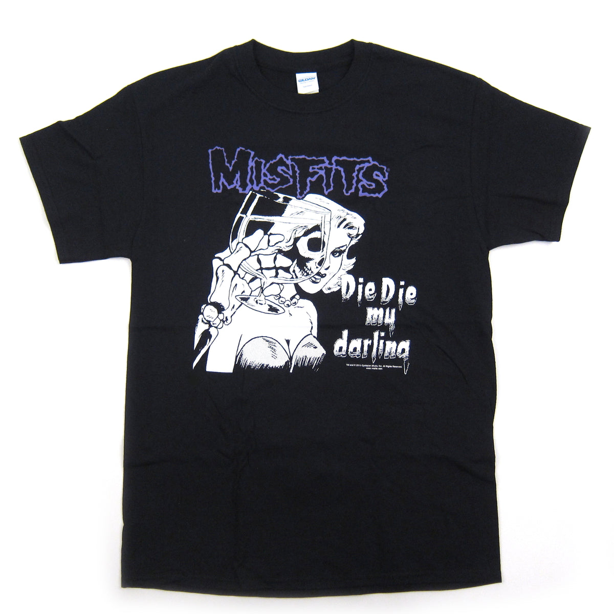Misfits: Die Die My Darling Shirt - Black