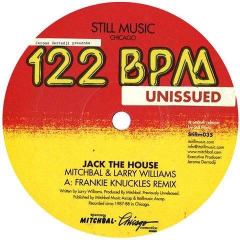 Mitchbal & Larry Williams: Jack The House (Frankie Knuckles) 12""