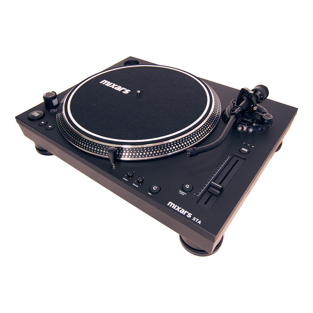 Mixars: DUO Mixer + (2) STA Turntable Package