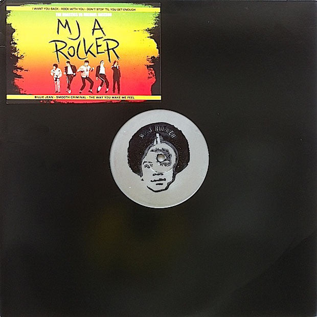Michael Jackson vs. The Drastics: MJ A Rocker LP