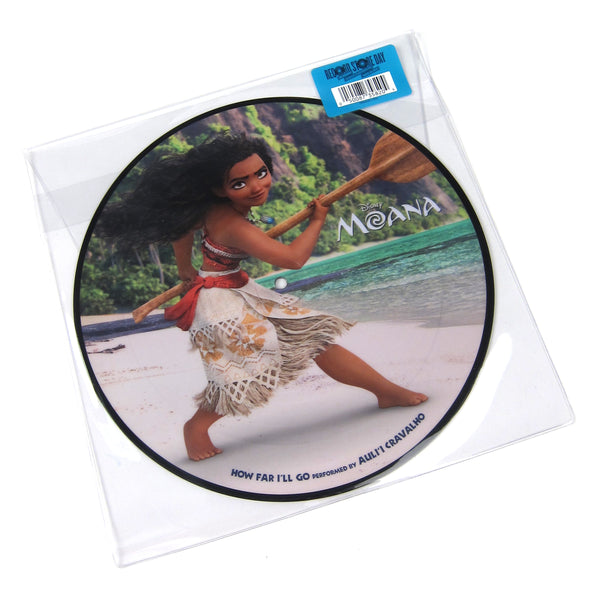 "Moana: How Far I'll Go (Pic Disc) Vinyl 10"" (Record Store Day)"