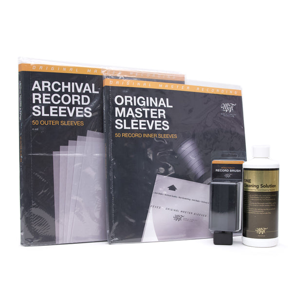 MOBILE FIDELITY Cleaning + Storage Bundle