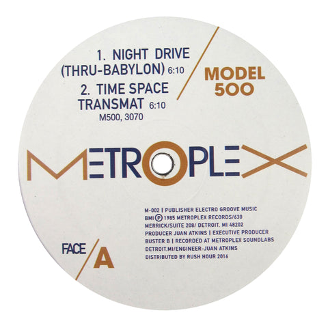 Model 500: Night Drive (Juan Atkins) Vinyl 12""