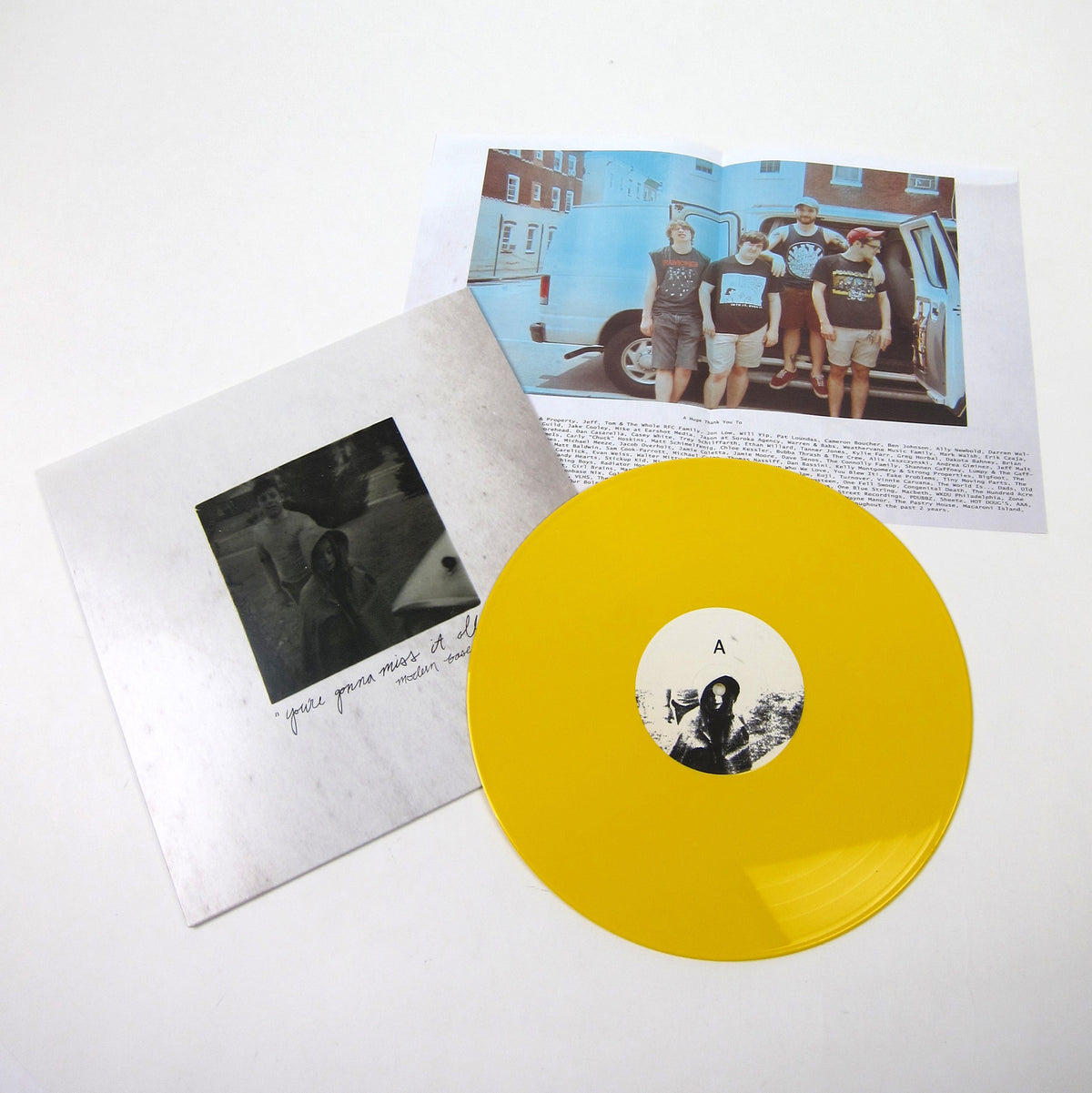 Modern Baseball: You're Gonna Miss It All (Colored Vinyl) Vinyl LP