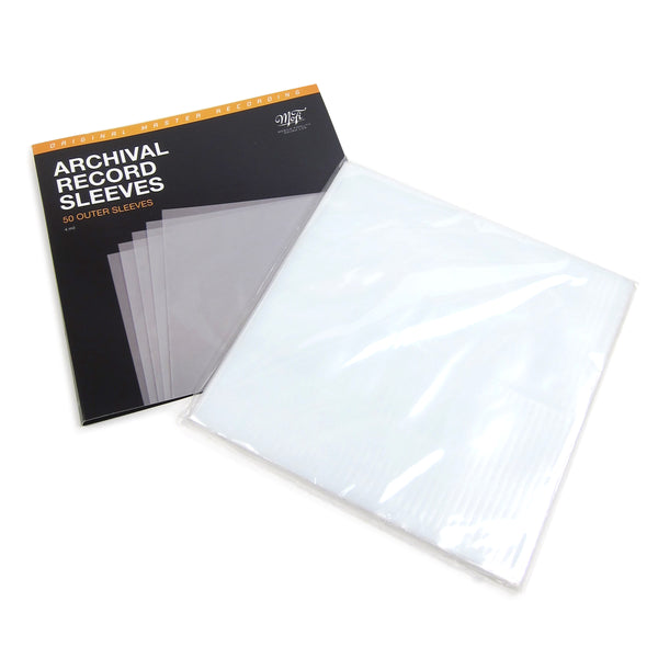 Mobile Fidelity: Archival Record Outer Sleeves (50 Units)