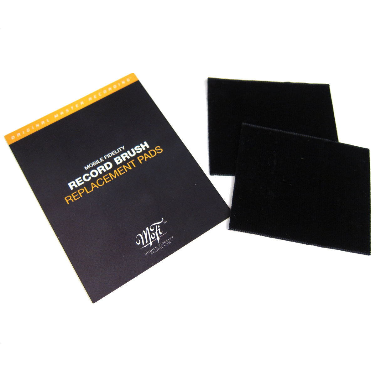 Mobile Fidelity: Replacement Record Brush Pads - 2 Units package