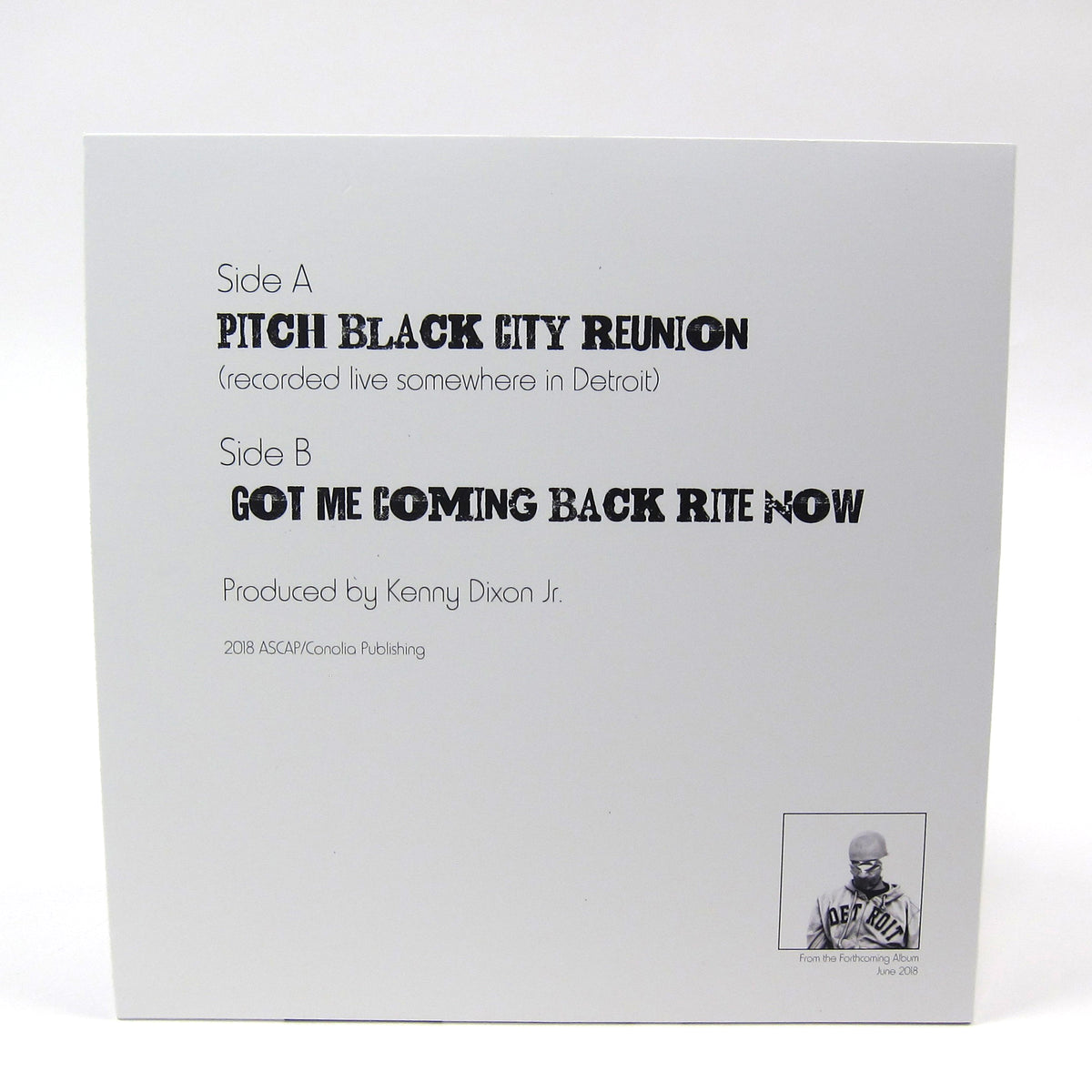 Moodymann: Pitch Black City Reunion Vinyl 12""
