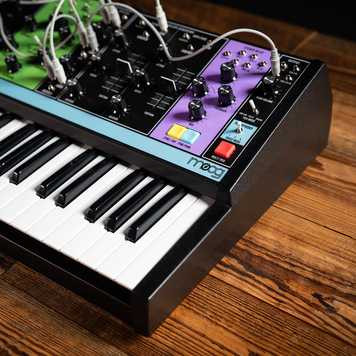 Moog: Matriarch Analog Semi-Modular Synthesizer