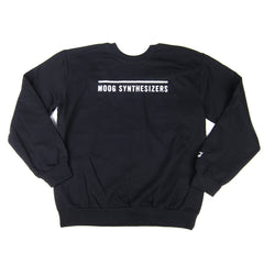 Moog: Moog Synthesizers Crewneck Sweatshirt - Black