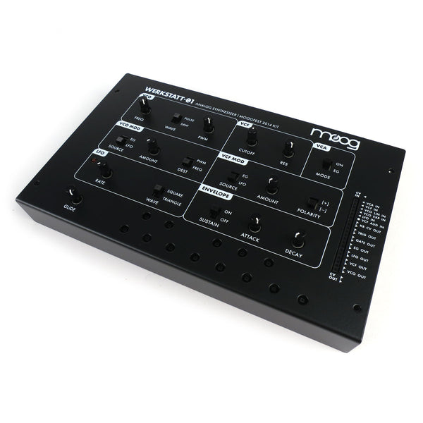 Moog: Werkstatt Analog Synthesizer Kit