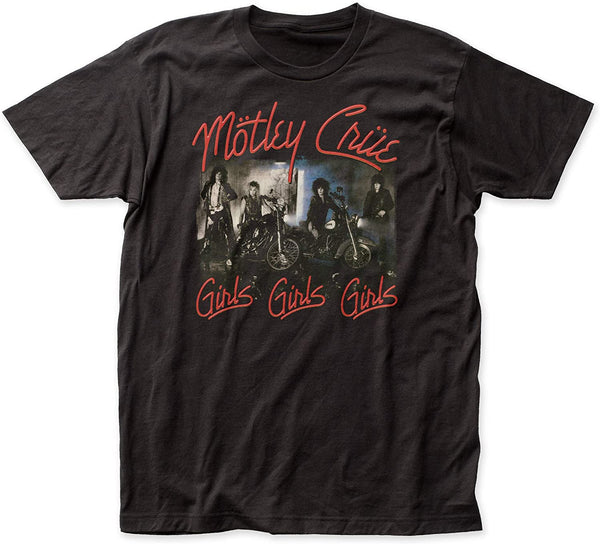 Motley Crue: Girls Girls Girls Shirt - Black