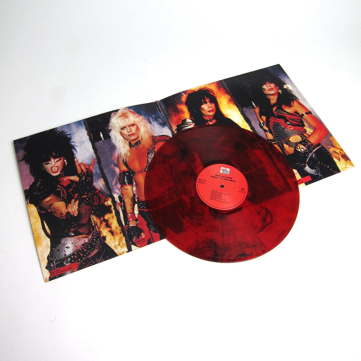 Mötley Crüe: Colored Vinyl LP Album Pack (Too Fast For Love, Shout At The Devil, Theatre Of Pain, Girls Girls Girls, Dr. Feelgood)