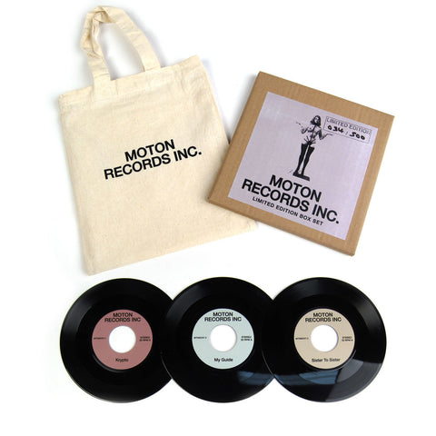 "Moton Records: Moton 3x7"" Vinyl Box Set (Record Store Day)"