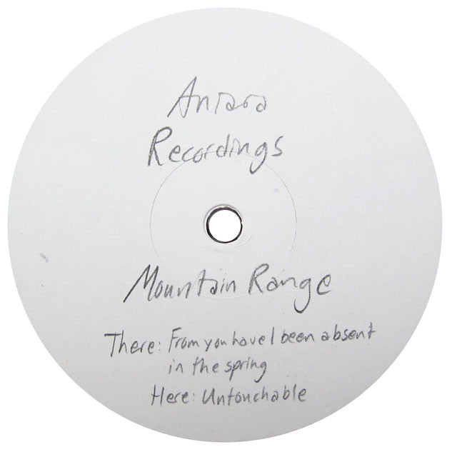Mountain Range: From You Have I Been Absent In The Spring / Untouchable 12""