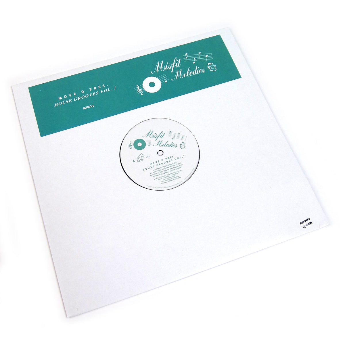 Move D: House Grooves Vol.1 Vinyl 12""