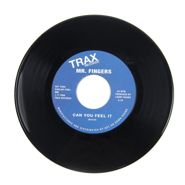 Mr. Fingers: Can You Feel It / Washing Machine Vinyl 7""