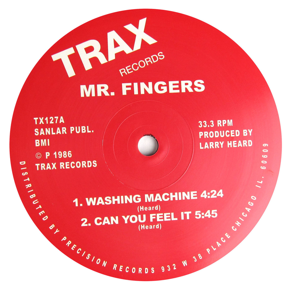 Mr. Fingers: Washing Machine / Beyond The Clouds Vinyl 12""