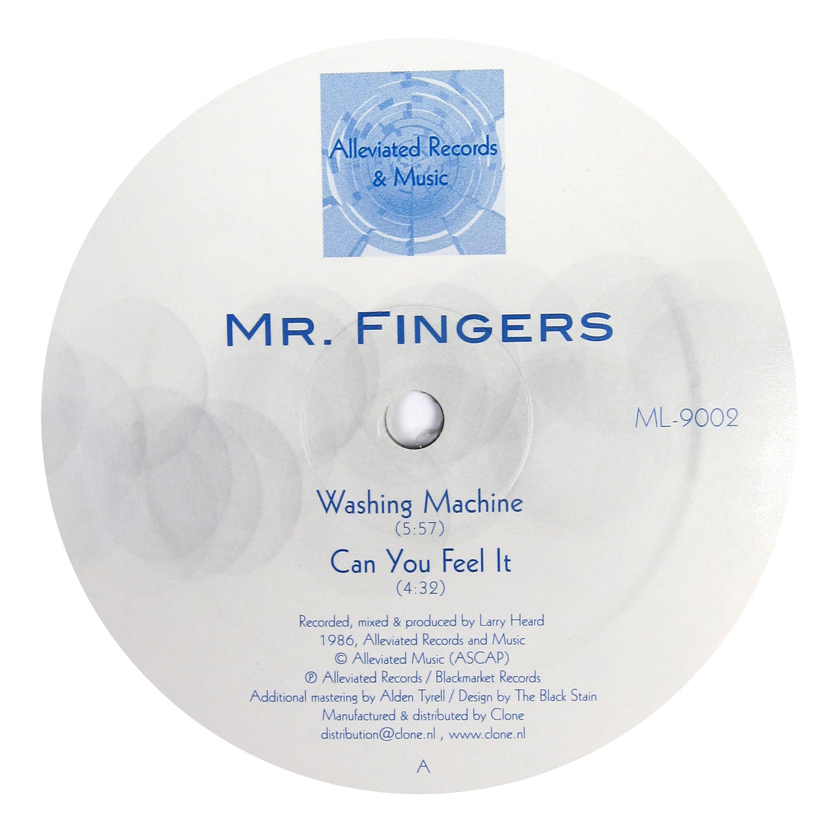 Mr. Fingers: Washing Machine Vinyl 12""